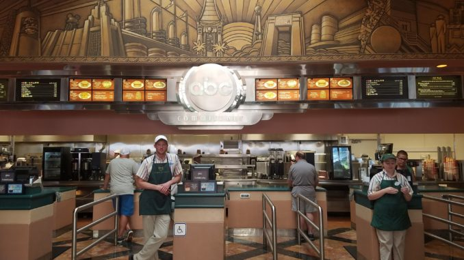 ABC Commissary in Hollywood Studios